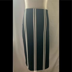 Women's Bold Elements Black and Cream Skirt